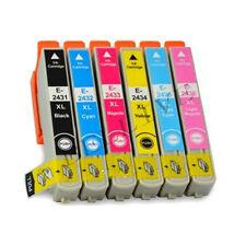 KIT 6 Cartucce Colori compatibile per Stampante EPSON XP750 , non rigenerate BL