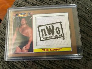 wwe. nwo the giant rare all star card bronze 48/99