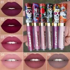Women 6 Color Waterproof Long Lasting Lip Liquid Pencil Matte Lipstick Lip Gloss