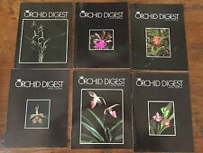 THE ORCHID DIGEST 6 VOLS 1986