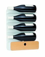 UNIVERSAL EXPERT 4 Bottle Wine Rack with Storage Box - New