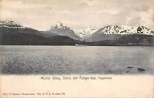 Argentina Monte Oliva Tierra del Fuego Schiff Ship Lake Panorama