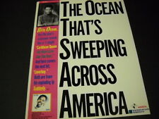 Billy Ocean 1984 Promo Poster Ad The Ocean That'S Sweeping Across America mint