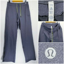 Lululemon Mens Small (Reg) Athletic Sweatpants Jogger Pants Gray
