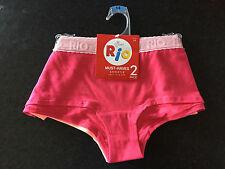 Ladies Sz 14 Soft Stretch Pack of 2 Rio BRAND Shortie Boy Leg Style Briefs