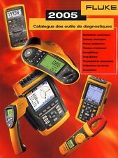FLUKE 2005 Test Instrument Catalog French Edition Glossy Paper Perfect 73 pages
