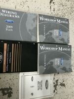 2009 Ford FLEX Service Shop Repair Workshop Manual Set FACTORY W EWD PCED +
