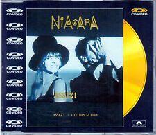 """NIAGARA """" Assez!  """"  CD VIDEO 5 TRACKS 1988  NUOVO RARO"""