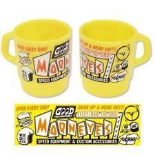 Sehr coole Mooneyes Milch Tasse Mug Pott Becher Kunststoff Moon Stuff Kustoms