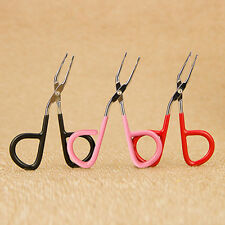 Scissors Flat Tip Eyebrow Tweezers Clamp Clipper Makeup Removal Tool Convenient