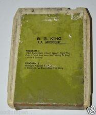 WOW Vintage B.B. King L.A. Midnight 8 Eight Track Tape Cartridge Rare