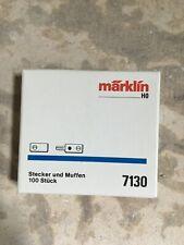 NIB Märklin HO - Plugs & Sockets - 100 Pieces - #7130