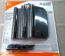 """National Hardware N830-325 3-1/2"""" Door Hinges, Oil Rubbed Bronze, Free Shipping"""
