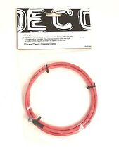 DECO Freestyle BMX Bicycle Bike Gyro Brake Cable Upper or Lower Rotor Red NEW