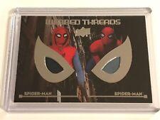 2017 Upper Deck Spider-Man Homecoming Webbed Threads Movie Memorabilia WTD10