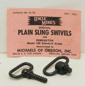 Uncle Mike's Sling Swivel Set for Remington 760 Standard Grade PL-133