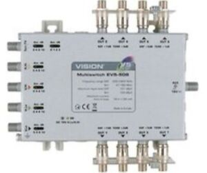 Vision EV5-508 5 x 8 Multiswitch (Line Powered) with 4G Filtering CLEARANCE