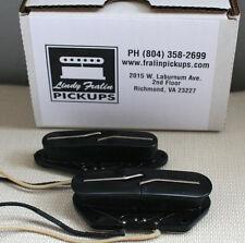 Lindy Fralin Vintage Tele Split Blade pickup set - black, medium radius