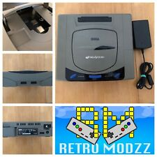 Sega Saturn Gris Consola 60Hz picoPSU Fram y Fenrir instalar
