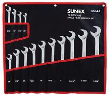14 Piece Sae Angle Head Wrench Set Suu-9914A