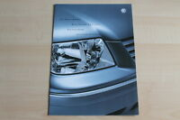 76794) VW Bora + Variant Special - Preise & Extras - Prospekt 07/2001
