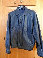COOPER Sportswear Mfg. Co. blk leather classic Flight/Bomber-MT-doc pkt-lined-EC