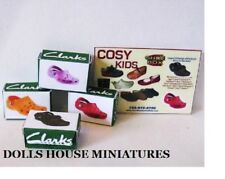 KIDS SHOES  DOLLS HOUSE MINIATURES