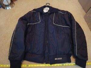 Vintage Ski-doo, Bombardier Snowmobile Jacket, Winter Coat Size M, Medium.