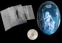 Airbrush Schablone Step by Step / Stencil / Frau / 179 keltische Kriegerin & CD