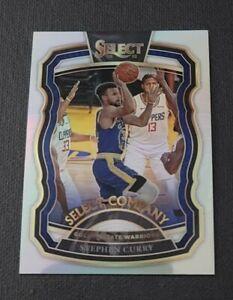 2020-21 Select Company Prizms Silver #14 Stephen Curry