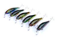 6pcs Lot Minnow Baits 3D Eyes Fishing lures 8.5cm/8.7g Crankbaits Wobblers Bait