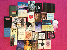 LOT OF PERFUME CARDS AND MINIATURES:  JUICY COUTURE, VERSACE,GUCCI, VERA WANG
