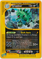 POKEMON • Tyranitar Expedition 66/165 CARTA ULTRA RARA HOLO REVERSE NMINT