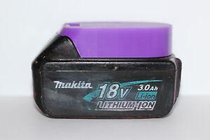2x Purple battery holder / cover for Makita BL1820 BL1830 BL1840 BL1850 18v