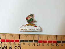 Mont Tramblant Lodge Skiing Pin  (#1263)