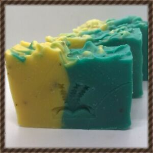 3 X Aloe Vera Soap, Natural, Handmade, Organic..nourishes Your Skin From Within