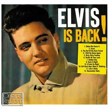 CD ELVIS IS BACK MAKE ME KNOW IT FEVER SOLDIER BOY SUCH A NIGHT LIKE A BABY ETC