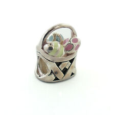 GENUINE CHAMILIA 925 STERLING SILVER EASTER MORNING CHARM