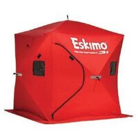 Eskimo 69445 QuickFish 3i Insulated Pop-Up Outdoor Portable Ice Fishing Shelter