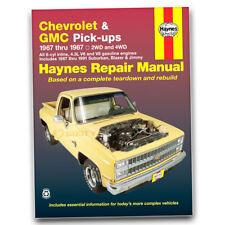 Haynes Repair Manual for 1979-1986 GMC K1500 - Shop Service Garage Book zd