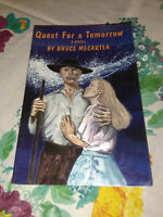 Quest for a Tomorrow by Bruce Mecartea (1995, Paperback) #af