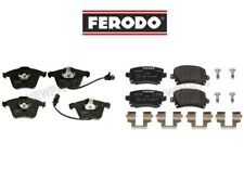 For Audi A6 Quattro V6 L4 Pair Set Front & Rear Disc Brake Pad Sets Ferodo OEM