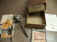 Vintage John Oster DARBY ANIMAL Clippers IN BOX & OSTER PRODUCTS ADS~TOOLS~HOME