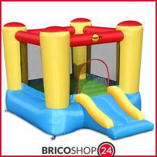 Happy Air 9503 Castello Gonfiabile con Scivolino - Multicolore