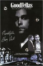 Henry Hill Signed Goodfellas Authentic Autographed 11x17 Poster PSA/DNA COA