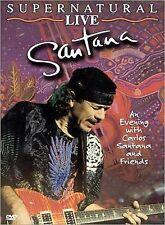 Santana - Supernatural Live (DVD, 2000) NEW, sealed