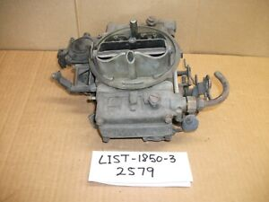 Holley 4bbl Carburetor LIST-1850-3, 2579, Used Very Nice Condition, Holley Carb