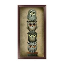 DIY 5D Diamond Embroidery Owl Painting Cross Stitch Art Craft Decoration