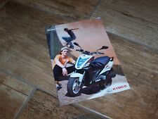 Catalogue /  Brochure KYMCO Gamme / Full Line Scooter 50cc 200?  //