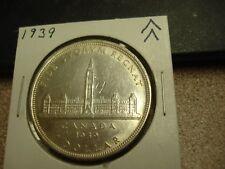 1939 - Silver - $1- Canada - Canadian Dollar